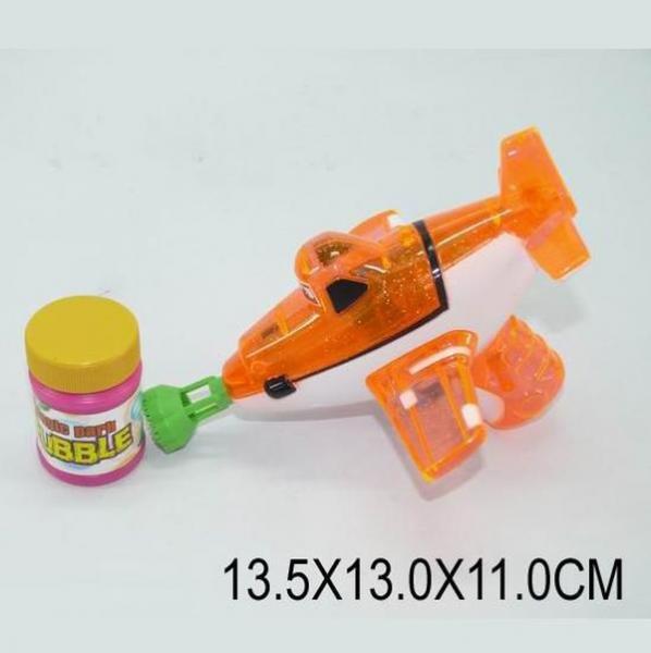 Мыльные пузыри 699 (1154490) (216шт/2) батар, свет, пистолет с бутылочкой в пакете 13,5*13*11см   Артикул: 03000699