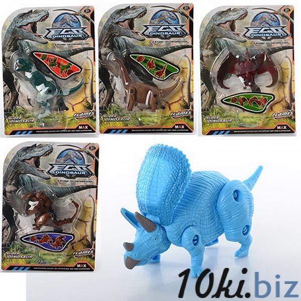 Динозавр 805ABCDE, складається, 5 видів, лист, 19-26-5,5 см   Артикул: 03000805 Любителям динозавров в Украине