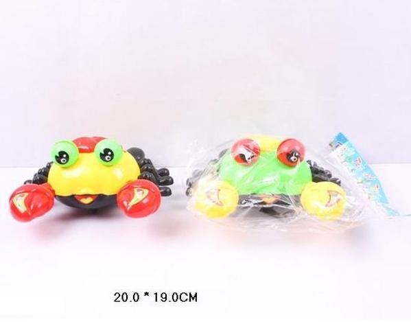 Заводной крабик 118-10 (216шт) 2 вида, в пакете 20*19см   Артикул: 03001181