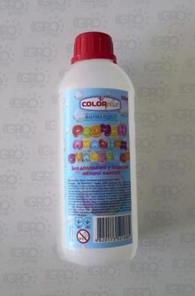 Наполнитель к мыльным пузырям 500мл.(12)   Артикул: 03001685