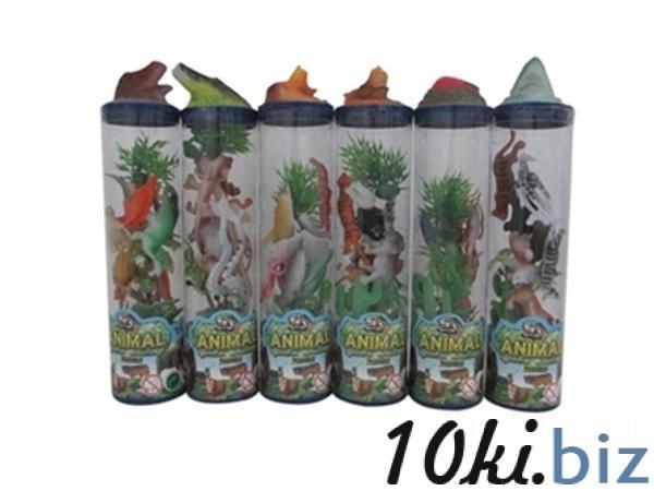 Животные колба JAMBO (арт. 3259)6 видов,5x5x23cm   Артикул: 03003259 Фигурки животных пластиковые, резиновые в Украине