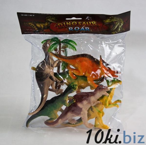 Набір  динозаврів   6 шт. (кульок ) 3519 р.27х21 см.   Артикул: 03003519 Любителям динозавров в Украине