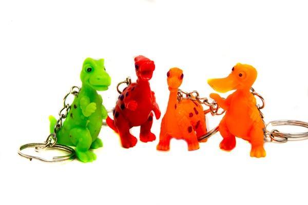 Брелок 3828 (1411997) (288шт/2) 10 видов динозавриков, в пакете 5,5*2*4 см   Артикул: 03003828