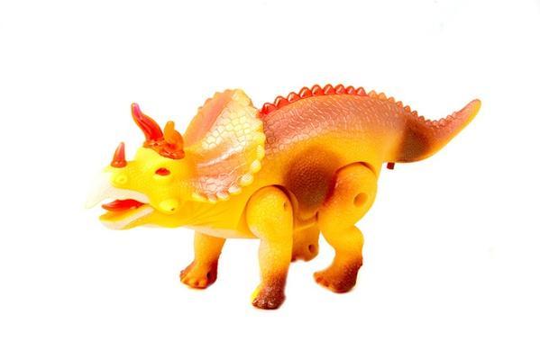 Животные 3832 (HWA961314) (84шт/2) динозавр, свет, звук, ходит, в коробке 26*14*7см   Артикул: 03003832