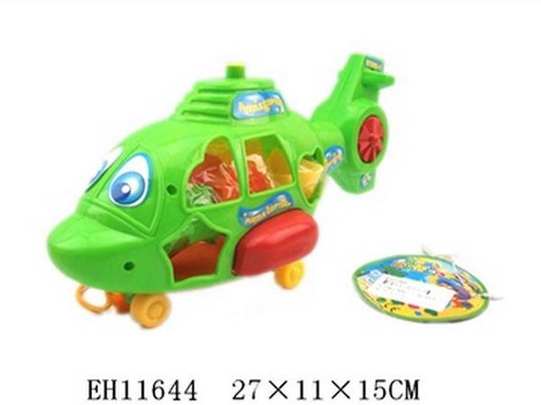 Сортер вертолет TM20055-01, в кул. 27x11x15 см JAMBO (100112860)   Артикул: 03005501