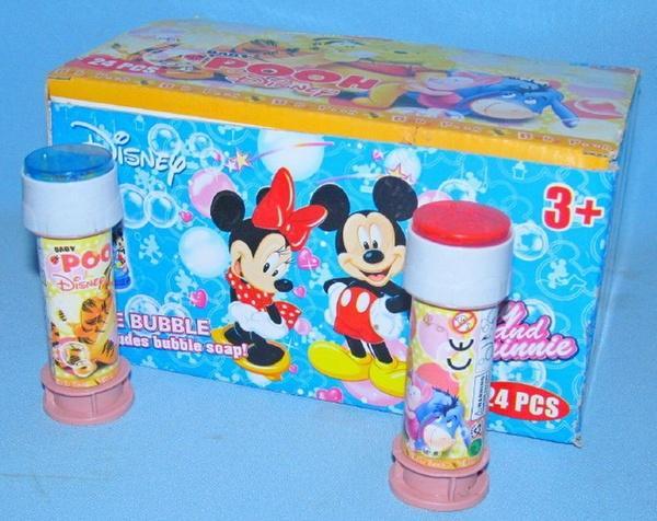 Мыльные пузыри 8814 Mickey Mouse 2цв.24 шт.в кор.20*13,5 ш.к./24/576/   Артикул: 03008814