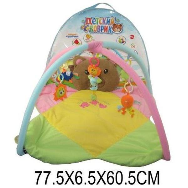 Коврик для малышей 898-8B (668735) (12шт) в сумке 77,5*6,5*60,5см   Артикул: 03008988