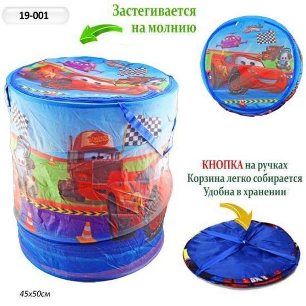 Корзина для игрушек 19-001 (50шт) 45*50см   Артикул: 03019001
