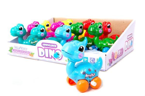 Динозаврики  на ключику (коробка  12 шт.) 6618   Артикул: 03026618