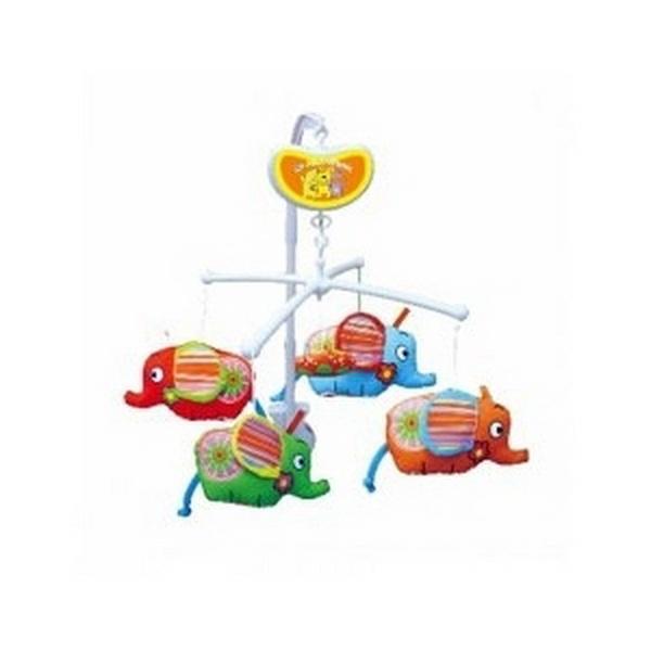 Музыкальный мобиль Biba Toys СЛОНЯТА   Артикул: 03200118