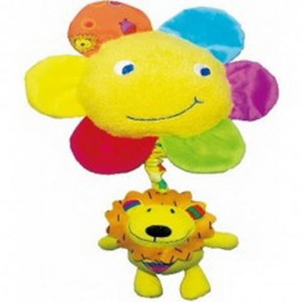 Музыкальная дрожащая игрушка Biba Toys СОЛНЫШКО и ЛЬВЁНОК   Артикул: 03200134