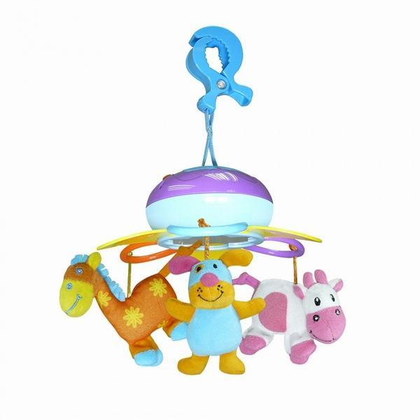 Музыкальный мини-мобиль Biba Toys СЧАСТЛИВАЯ ФЕРМА   Артикул: 03200349