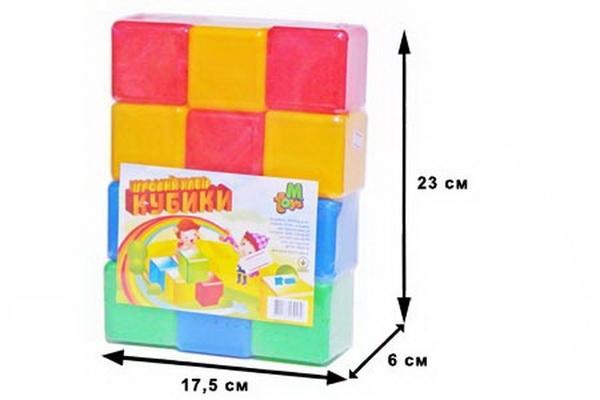 Кубики цветные 12шт.(24)   Артикул: 03220162