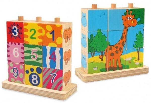 Дерев*яні кубики   Артикул: 03222043