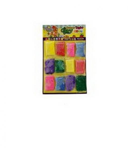 Шариковый пластилин для лепки (лист 12х10г)   Артикул: 03400238