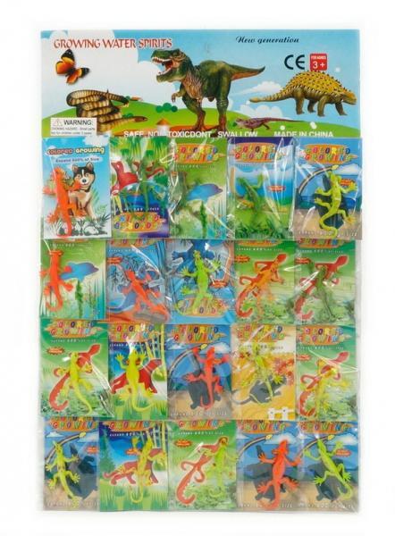 Животные растущие 466-782 (200) 20шт на планшете, /ЦЕНА ЗА 1 ПЛАНШЕТ/   Артикул: 03466782