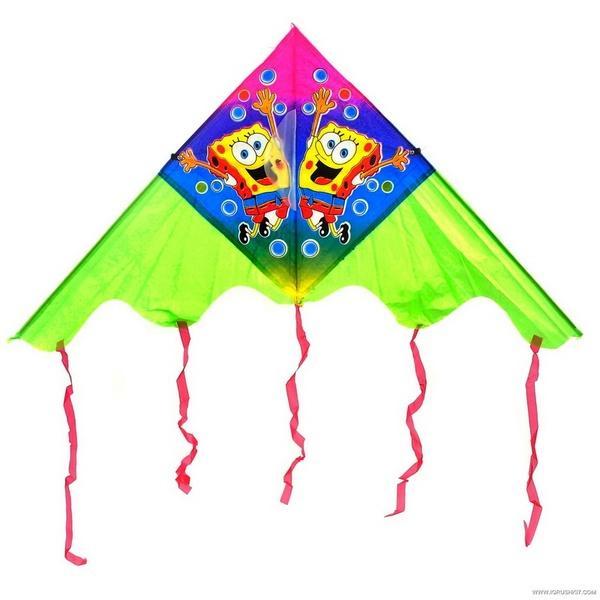 Воздушный змей 466-898 (600) 8 видов, в кульке   Артикул: 03466898