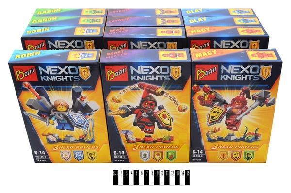 """""""Brick """"   """"NEXO  knights"""" (коробка ) 109  р.24.5х16х4,5см.   Артикул: 04000109"""