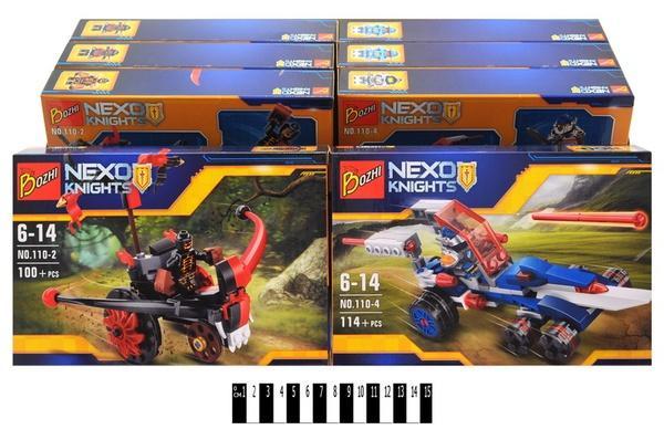 """""""Brick """"   """"NEXO  knights"""" (коробка ) 110  р.24.5х16х4,5см.   Артикул: 04000110"""
