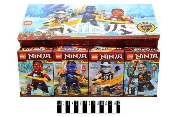 """""""Brick""""   """"NINJA""""  (коробка 8 шт.) SX211 р.26х17х12,5 см.   Артикул: 04000211"""