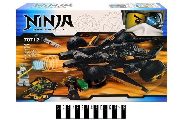 """Brick   """"Ninja"""" 70712   Артикул: 04000712"""