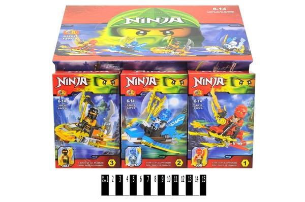 """Brick""   ""NINJA""    (коробка 12 шт. ) А 32035 р.30,5х19,3х14,5 см.   Артикул: 04002035"