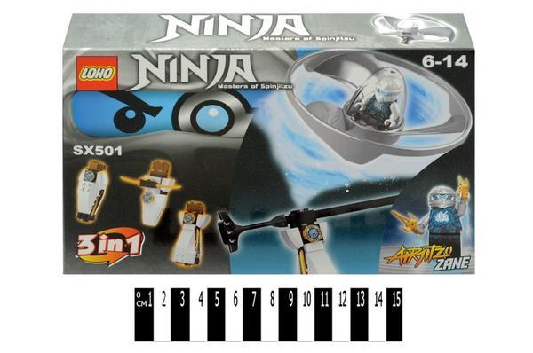 """""""Brick""""   """"NINJA""""  SX501-6 (коробка )р.24х16х4,5см.   Артикул: 04004172"""