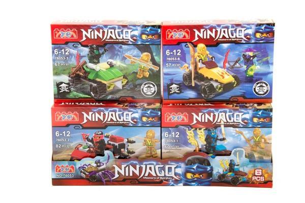 """Brick""   ""NINJAGO""    (коробка  ) 76053 р.38,6х13,6х11,3см.   Артикул: 04006053"