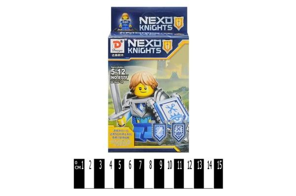 """Brick ""   ""NEXO  knights"" (6 видів) 877А-F (646721) р.8х11х4 см.   Артикул: 04006721"