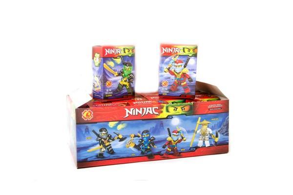 """Brick""   ""NINJA""    (коробка 6 шт. ) 6900 р.33х11,9х18,7см.   Артикул: 04006900"