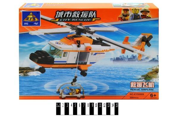 """""""Brick"""" """"Вертоліт"""" 85009 300 дет. р.35х25х5,3 см.   Артикул: 04007271"""