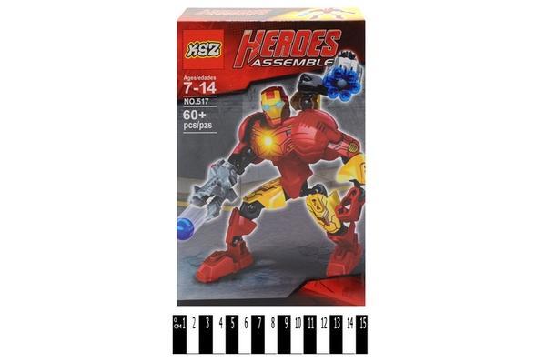 "Brick ""Heroes"" 517 р.24х15,5х5,5 см   Артикул: 04007517"