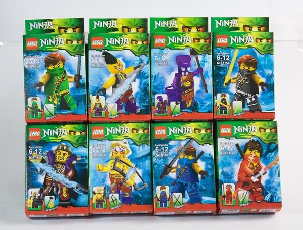 """Brick""   ""Ninja"" (коробка 16 шт.) 1754-1 р.33х24,5х26 см.   Артикул: 04007541"