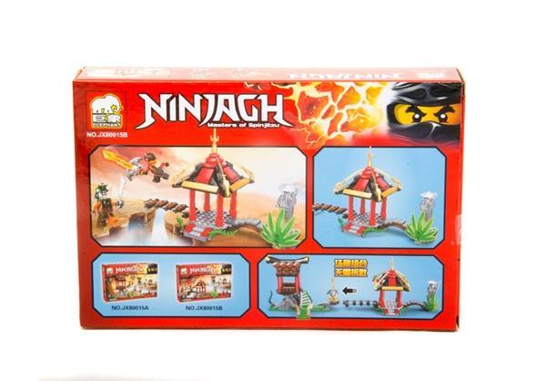 """Brick""   ""NINJAGH""    (коробка  )  JX80015 р.28,5*19*5,5см.   Артикул: 04008015"
