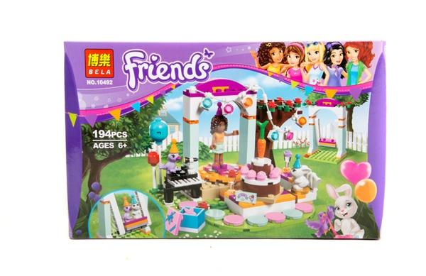 """Brick""  Friends  194 дет. 10492 р.33,3*21*4,5см.   Артикул: 04010492"