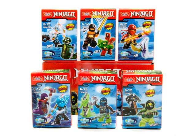 """Brick ""   ""Ninjago"" (коробка 12 шт.)  ) 76049  р.25*12*7 см   Артикул: 04016049"