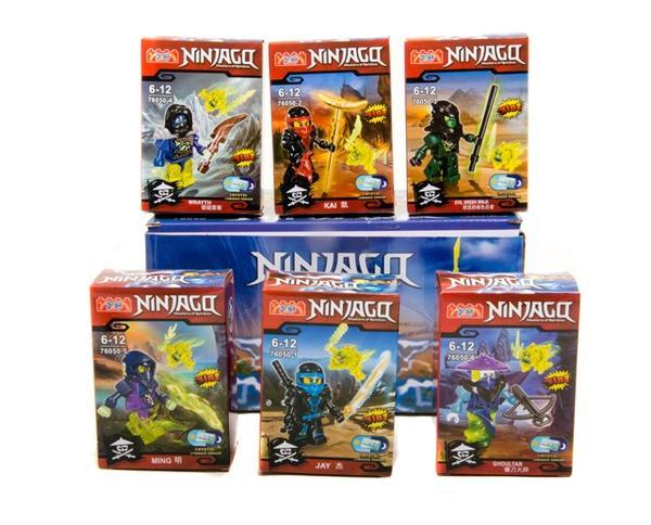 """Brick ""   ""Ninjago"" (коробка 12 шт.) 76050  р.25*12*7 см   Артикул: 04016050"