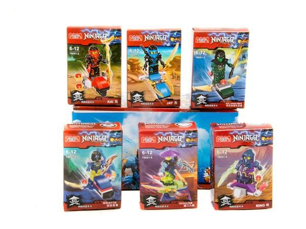 """Brick ""   ""Ninjago"" (коробка 12 шт.) 76051  р.25*12*7 см   Артикул: 04017605"