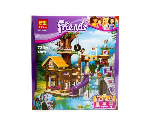 """Brick""  Friends  739 дет. 10497 р.36*40,3*8см.   Артикул: 04020497"