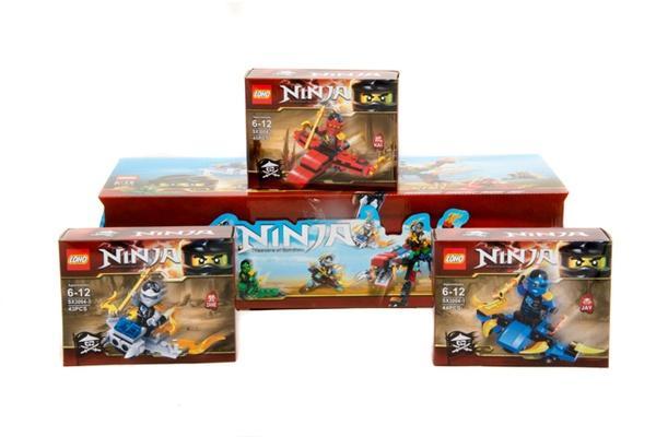 """""""Brick""""   """"NINJA""""    (коробка 12 шт. ) SX3004 р.14.5x4.5x9 см.   Артикул: 04023004"""
