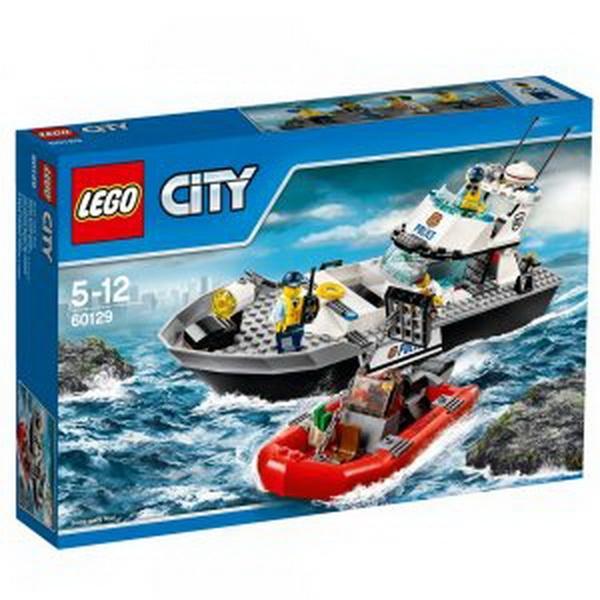 """Конструктор ЛЕГО""""Поліцейський патрульний човен""""   Артикул: 04060129"""