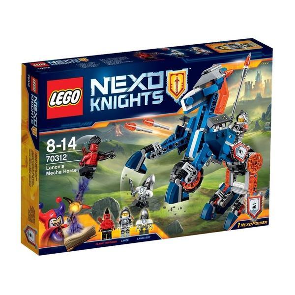 """Конструктор ЛЕГО""""Механічний кінь Ленса"""" (LEGO)   Артикул: 04070312"""