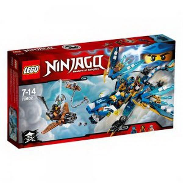 """Конструктор ЛЕГО""""Дракон стихій Джея"""" (LEGO)   Артикул: 04070602"""
