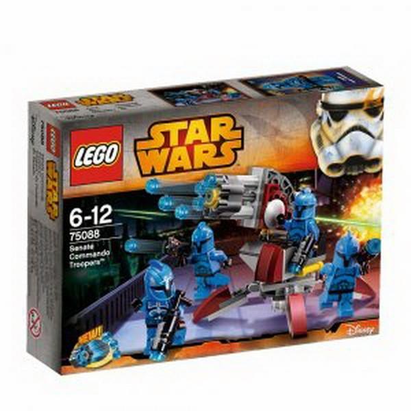 """Конструктор Лего""""Спецпідрозділ Сенату (Senate Commando Troopers™)""""   Артикул: 04075088"""