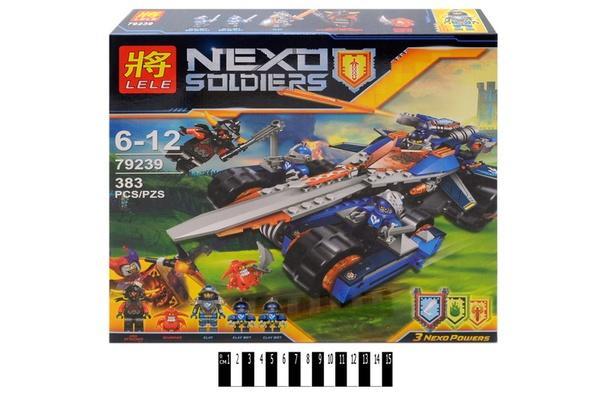 """""""Brick """"   """"NEXO  soldiers""""  383 дет. 79239 р.35х34,5х6,8см.   Артикул: 04079239"""