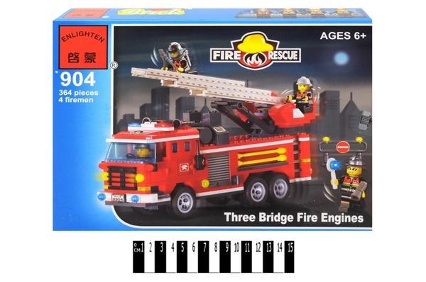 """Brick"" ""Пожежна охорона"" 904 р.34х25х5,25см.   Артикул: 04100904"