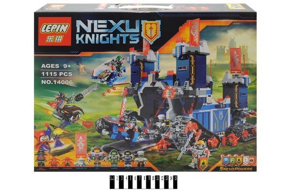 """""""Brick """"   """"NEXO  knights"""" (коробка ) 14006 р.52,5х9х42,5 см.   Артикул: 04224006"""