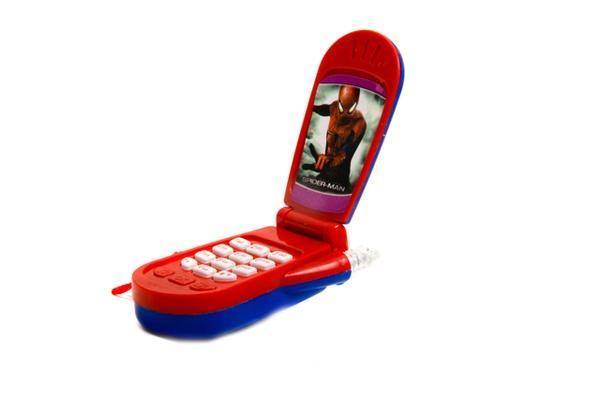 Телефон M 0265 I U/R-1 (360шт) мобильный, 6 видов, в коробке, 4,5-9см   Артикул: 05000265
