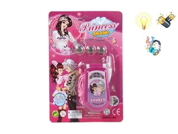 Телефончик JAMBO (арт. 0377A) принцесса,блистер,муз,свет,батар,17x11.5x2.5cm   Артикул: 05000377