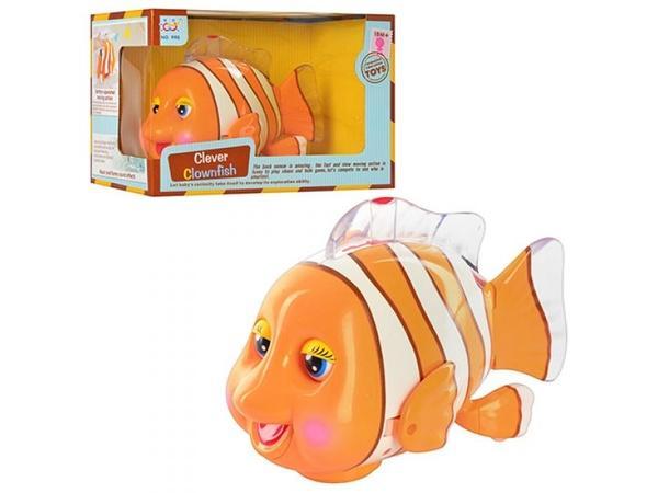 Рыбка 998 (36) свет, на бат-ке, в кор-ке   Артикул: 05000998